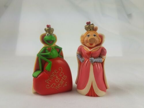 Hallmark Merry Miniatures Muppets Kermit the Frog Prince of Hearts & Miss Piggy