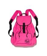 Victoria's Secret Pink Backpack School Gym Travel Bag Tote Atomic Hot Pink - $180.00