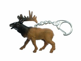 Moose Keychain Miniblings Key Ring Hirsch Animals Animal Canada - $69.64