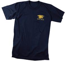 Official US Navy Seal Team T-Shirt USN Seals Trident Special Warfare Nav... - $10.99+