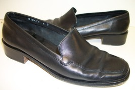 Cole Haan Black Loafers 6 or shoes - $17.10