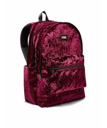 Victoria's Secret Pink Campus Backpack Velvet Maroon NWT - $79.93