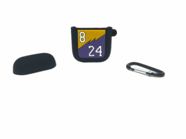 Kobe Bryant Lakers 8/24 Silicone Cover Compatible Apple AirPods 1 & 2 New - $11.88