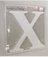 Koala Baby Letter X Uppercase White Nursery Wall Decor Ribbon Free Ship NEW - $16.81