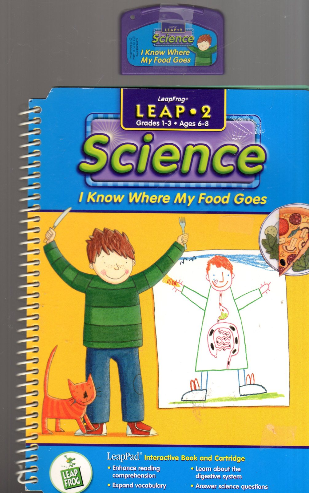 "LeaFrog Leap 2 - Science ""I Know Where My Food Goes"""