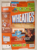 Empty Wheaties Cereal Box 2007 18oz Lady Vols Tennessee Volunteers [G7E3c] - $13.55