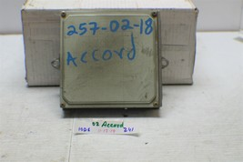 2000-2002 Honda Accord Engine Control Unit ECU 37820PAAA54 Module 241 10D6 - $18.80