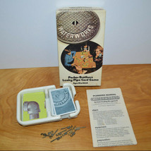 Vintage WATERWORKS Card Game Complete Parker Brothers 1972 Family Game N... - $10.69
