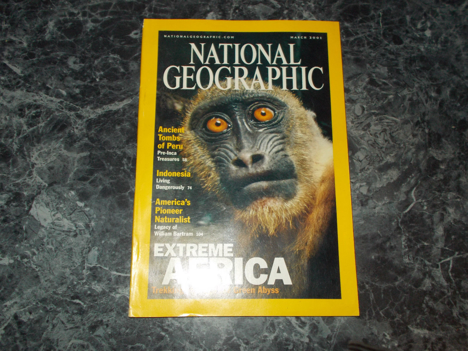 National Geographic Magazine March 2001 William Bartram