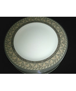 "Studio Nova COURTYARD Salad Plates 8 1/4"" D Y0281  7-pc Excellent - $37.99"