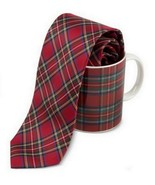 Tommy Hilfiger Gifts Collection Men's 100% Silk Classic Holiday Tie & Mu... - $29.99