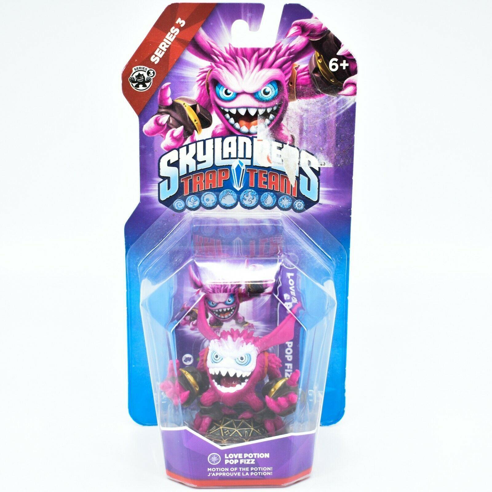 Activision Skylanders Trap Team Love Potion Pop Fizz Magic Series 3 Character