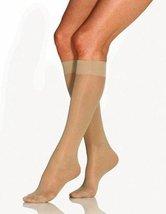 Jobst UltraSheer Knee High Mild Compression SupportWear 8-15 mmHg - SILKY BEIGE  - $11.99