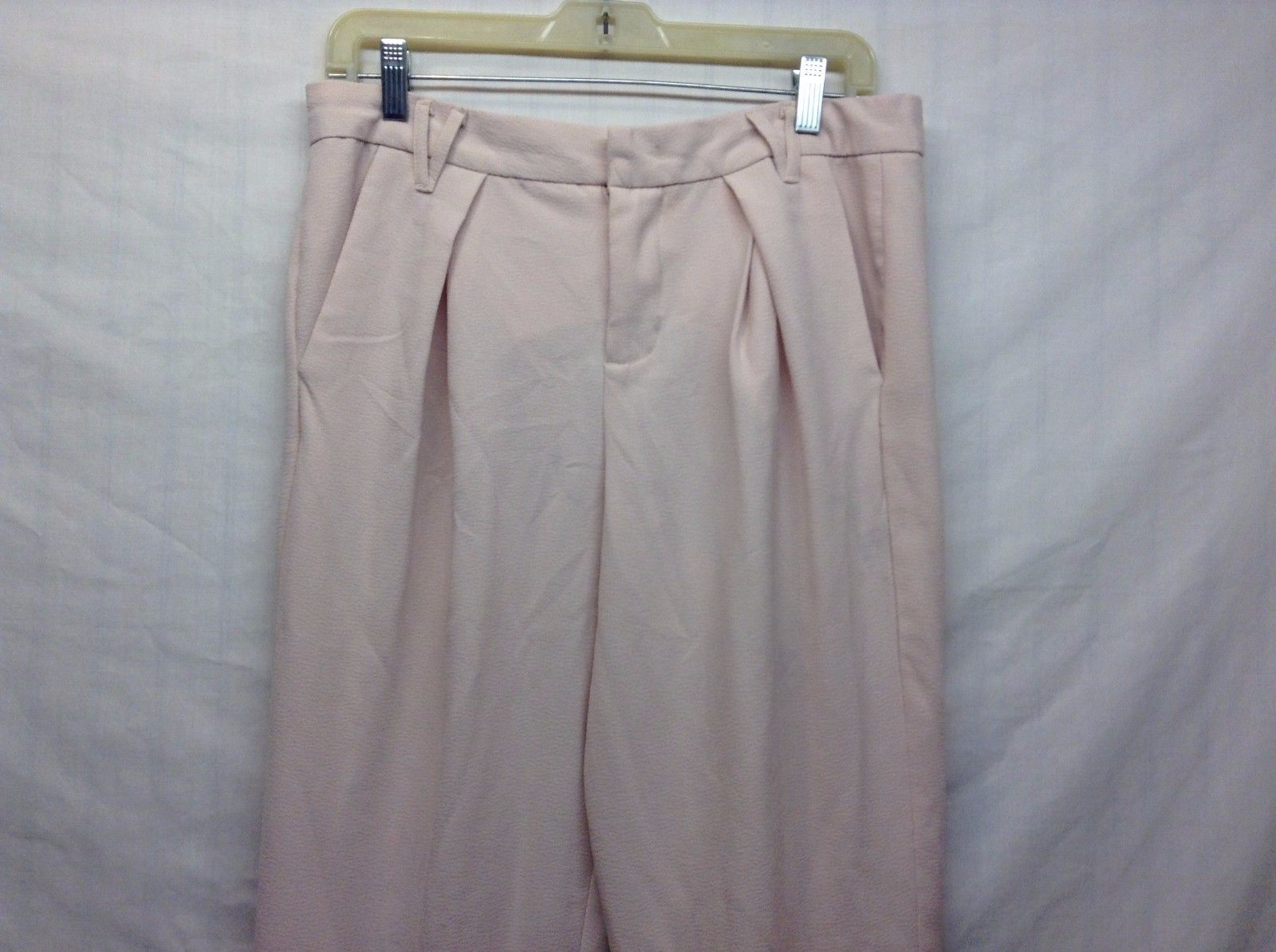Nine West Peach Pink Pants Sz 8