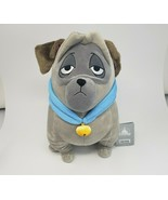 DISNEY POCAHONTAS PERCY GREY PUG PUPPY DOG STUFFED ANIMAL PLUSH TOY NEW ... - $45.82