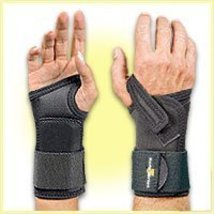 Safe-T-Wrist Heavy Duty Occupational Wrist Support - Black - Small - Right - $544,32 MXN