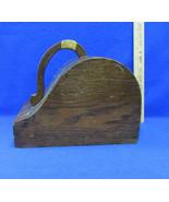 Antique Wooden Ballot Voting Box Black White Ball Fraternal Organization... - $64.34