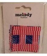 New Melody Fashion Red White Blue Patriotic Bobby Pins Fashion Accessory... - $8.79