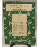 Piano Duets Stanford King Harold Flammer Beginners Spring Flowers Walter... - $6.92