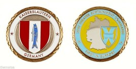 "KAISERLAUTERN KLEBER ARMY 21ST THEATER SUSTAINMENT COMMAND 1.75"" CHALLEN... - $17.14"