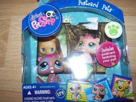 Littlest Pet Shop Postcard Pets LPS Beaver PVC Toy Figure # 1580 New - $14.00