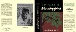 Harper Lee TO KILL A MOCKINGBIRD facsimile dust jacket for first & early... - $21.78
