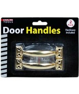 2 Pack Door Handles with Hardware - $5.08