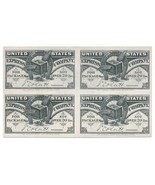 9CF1 United States Express Co. Complimentary Frank PROOF BLOCK, 1854 - £149.64 GBP