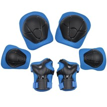 Sports Protective Gear Safety Pad Safeguard Knee Elbow Wrist Support Pad... - $19.23