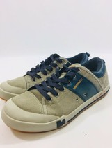 Merrell Mens size 10.5 Select Fresh Aluminum Navy Canvas Lace Up Sneake... - $55.74