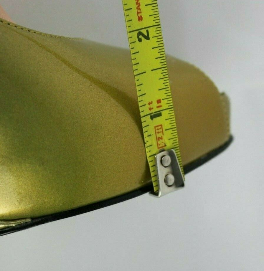 Jessica Simpson pensly women's wedge heels shoes green open toe size 10B image 10