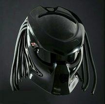 Straight Predator Motorcycle Helmet Black Gloss (Dot / Ece Certified) - $355.00