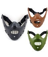 The Silence of the Lambs Movie Hannibal Lecter Mask Halloween Party - $37.52