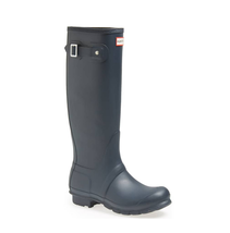 HUNTER Original Tall Waterproof Rain Boot, Dark Slate Grey, Sz 9 (uk 7) - $117.81