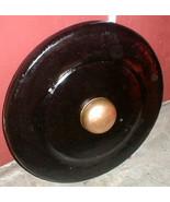 Gong Gamelan Java Bali Metal Boss Nipple 32 in LARGE Teak Mallet Indones... - $1,484.01