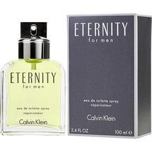 ETERNITY by Calvin Klein EDT SPRAY 3.3 OZ - $37.00