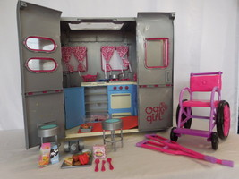 """Our Generation RV Camper Trailer Fits Jeep & American Girl 18"""" Doll Wheelchair & - $53.02"""