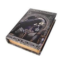 9.25 Inch Taslisman Book Rectangle Jewelry/Trinket Box Figurine - $22.99