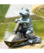 Awesome Jet Ski Frog Garden Pool Yard Statue/Sculpture,15.5'' x 12.5''H. - $148.50