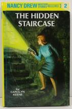 The Hidden Staircase Carolyn Keene Nancy Drew Mystery Stories 2 - $3.99