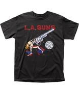 LA Guns Cocked & Loaded Bullet Ammo Music Hard Rock Adult T Tee Shirt LAG02 - $19.99+