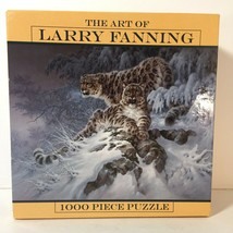 New Sealed Ceaco The Art of Larry Fanning 1000 Piece Jigsaw Puzzle Snow ... - $24.88