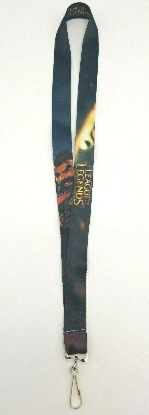 League of Legends Graves & Twisted Fate Lanyard LOL Worlds LA 2016 Exclusive