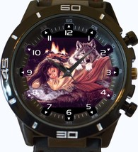 Romancing Wolf New Gt Series Sports Unisex Watch - $34.99