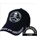 2nd Amendment, Black Cloth, High Quality Ball Cap - $18.99