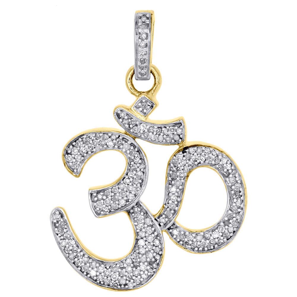 Hindu Religious Om Pendant 14k Yellow Gold and 50 similar items
