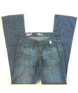 Old Navy Womens The Diva Boot Cut Denim Jeans Size 00 Reg Medium Wash Low Rise - $21.99
