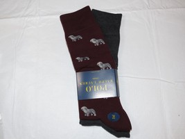 Men's Polo Ralph Lauren 2 pack Pair socks 13-16 dress casual 889732KXLE ... - $36.62