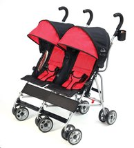 Kolcraft Cloud Double Umbrella Stroller – Lightweight and Compact, Easy ... - $80.71