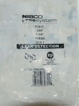 Nibco Press System Press Tube Cap Fitting Leak Detection 9172800PC image 3
